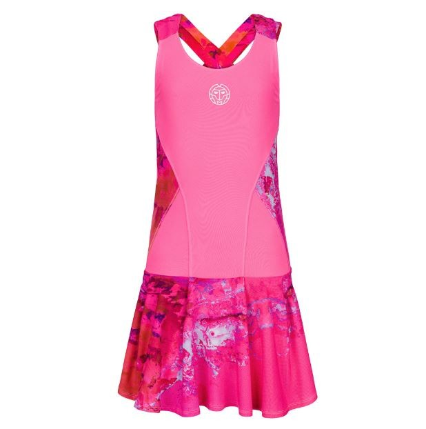 Платье женское Bidi Badu Lipa Teck Dress red/pink